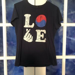 I love Korea tee shirt
